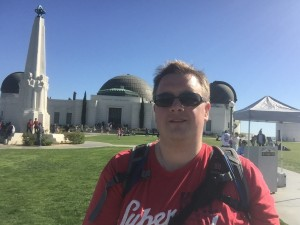 Selfie at Griffith observatory