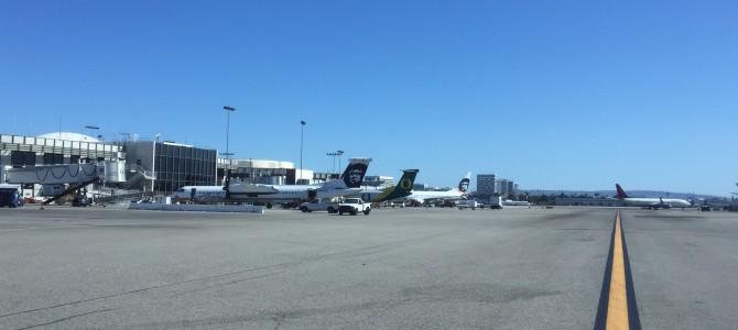 Travel day LAX – SFO