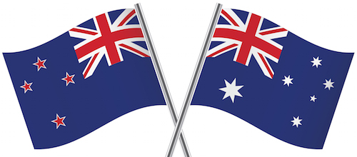 Australian-New-Zealand-flags